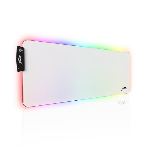 Extended White RGB Mousepad