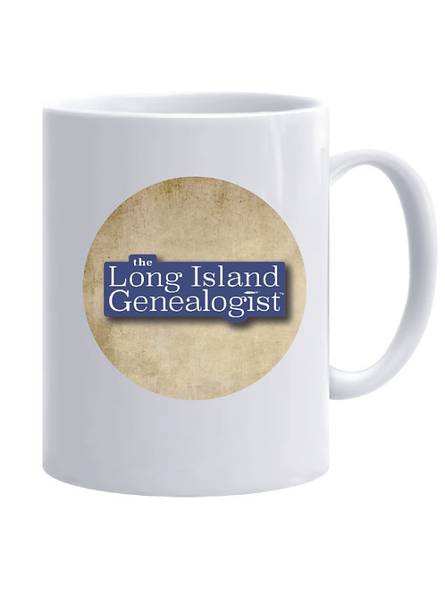 LIG Logo on Tan Background Mug