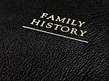 A Black Leather Bound Book Cover that Re