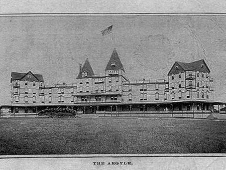 What happened to The Argyle hotel in Babylon?