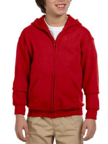 YOUTH Zip-up Hoodie - WITH PERSONALIZATION