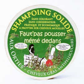 SHAMPOING SOLIDE AUX ORTIES - MA KIBELL