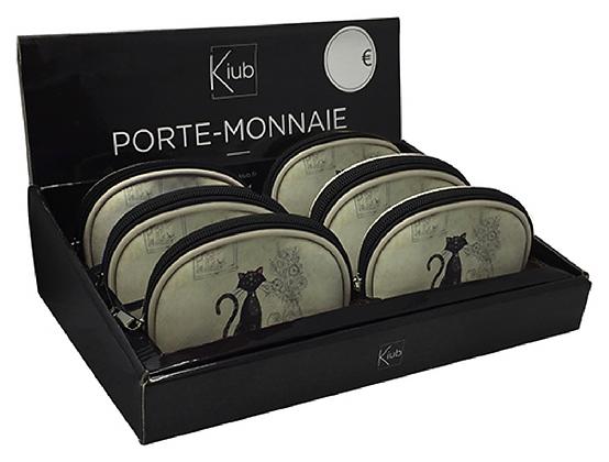PORTE MONNAIE CHAT - 2 modèles