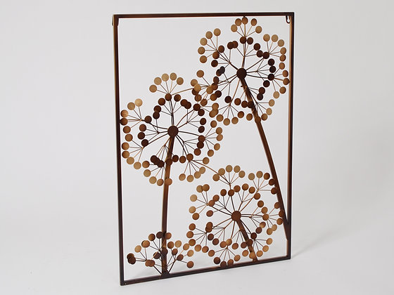 ALLIUM TABLEAU METAL