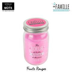 BOUGIE PARFUMEE FRUITS BOCAL SOEUR