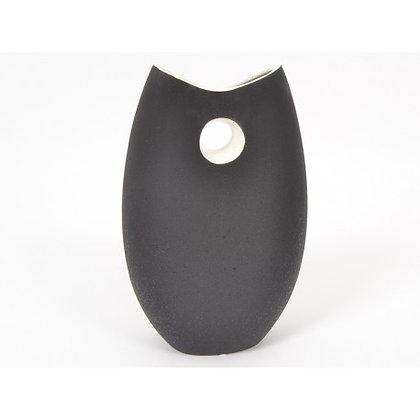 BLACK & WHITE vase 35cm
