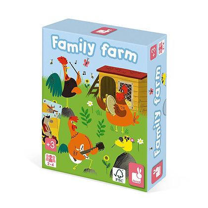 JEU DE 7 FAMILLES FAMILY FARM - JANOD