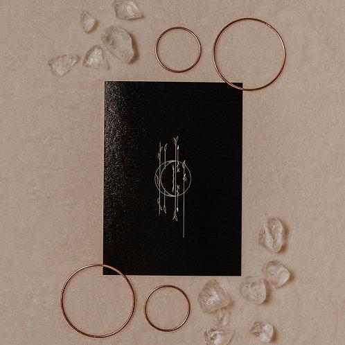 Crescent Moon - Mini Poster