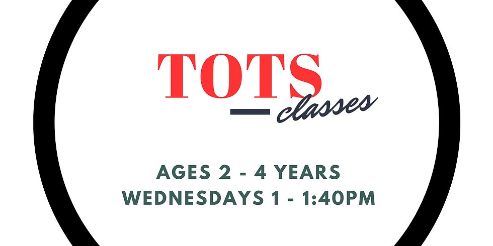Theatre Tots Wednesday Class CIRCUS