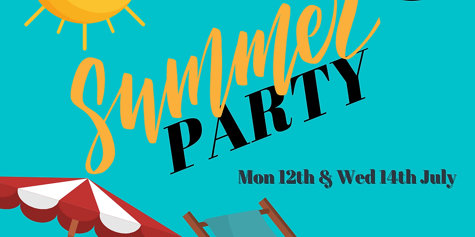 Theatre Tots Monday Class Summer Party