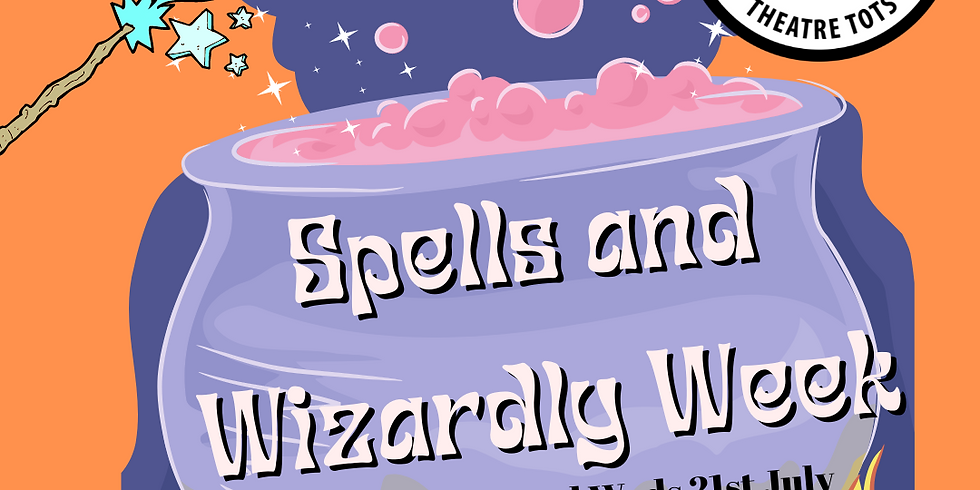 Theatre Tots Monday Class Spells & wizardry