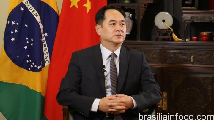 Embaixador da China no Brasil Yang Wanming