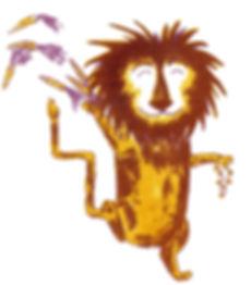 Megan Hobby Kauffman dancing lion carrots treasure