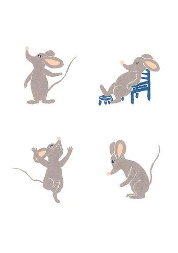 Megan Hobby Kauffman mouse character illustration