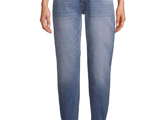 Jordache Vintage Women's Cher High Rise Yoke Front Mom Jeans
