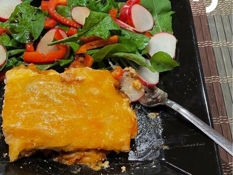 Low-Carb Turkey Lasagna