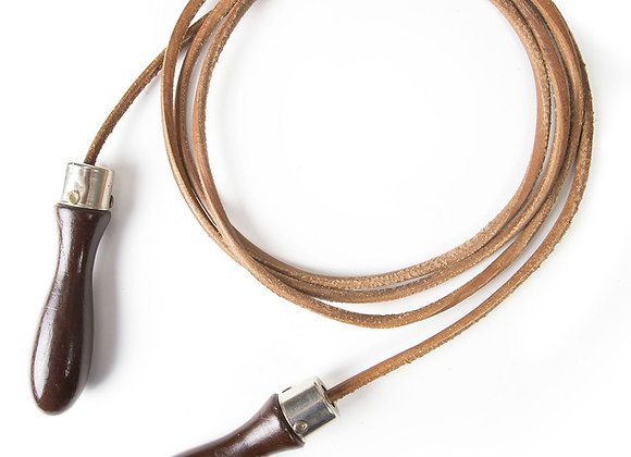 Brybelly SLEG-101 Vintage Leather Jump Rope