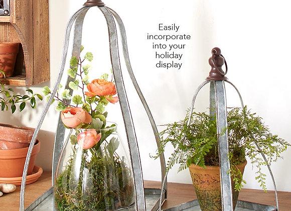 Set of 2 Decorative Display Stands
