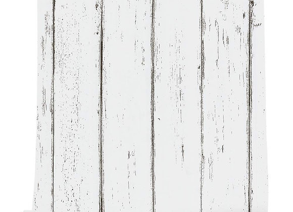Vintage Distressed White Maple Wood Grain Peel and Stick Wall Decor Wallpaper,