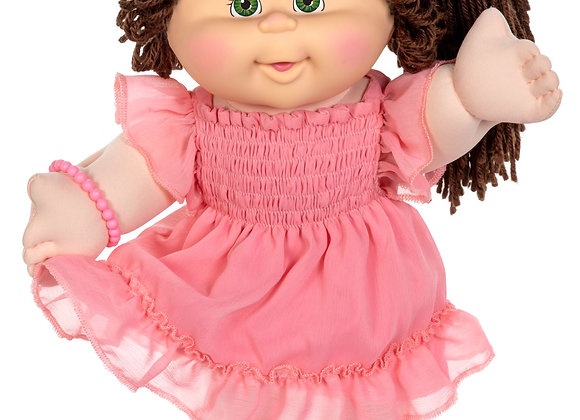 Cabbage Patch Kids Vintage Kid Pink Fashion Green Eyes