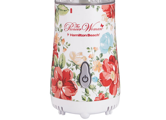 The Pioneer Woman Vintage Floral 14-Ounce Personal Blender with Travel Lid