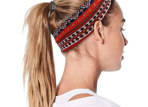4PCS Boho Headbands for Women Cotton Sports Hair Band Vintage Cross Elastic Hea