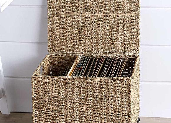 Seagrass Rolling File Organizer