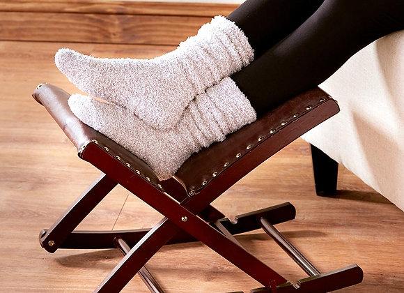 Foldable Upholstered Rocking Footrests