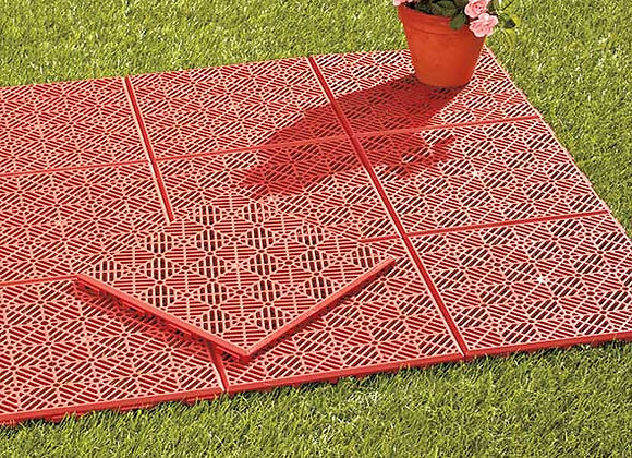 Sets of 10 Interlocking Patio or Walkway Tiles