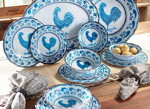 Country Rooster Melamine Collection