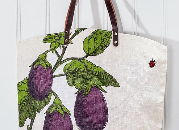 Farmhouse Leather Handle Market Bags