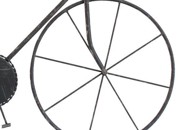 Vintage Bicycle Wall Art - Black