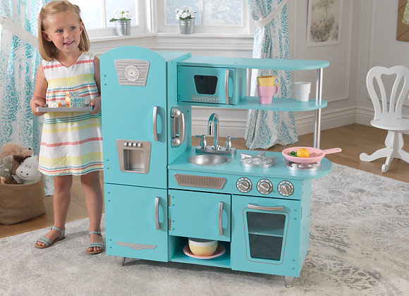 KidKraft Vintage Play Kitchen - Blue