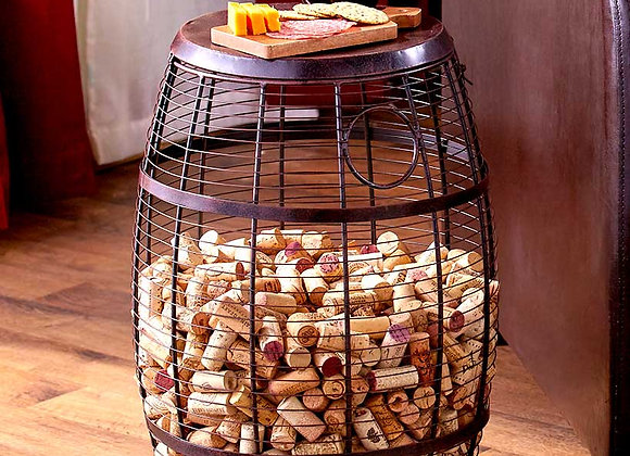 Wine Cork Holder Accent Tables
