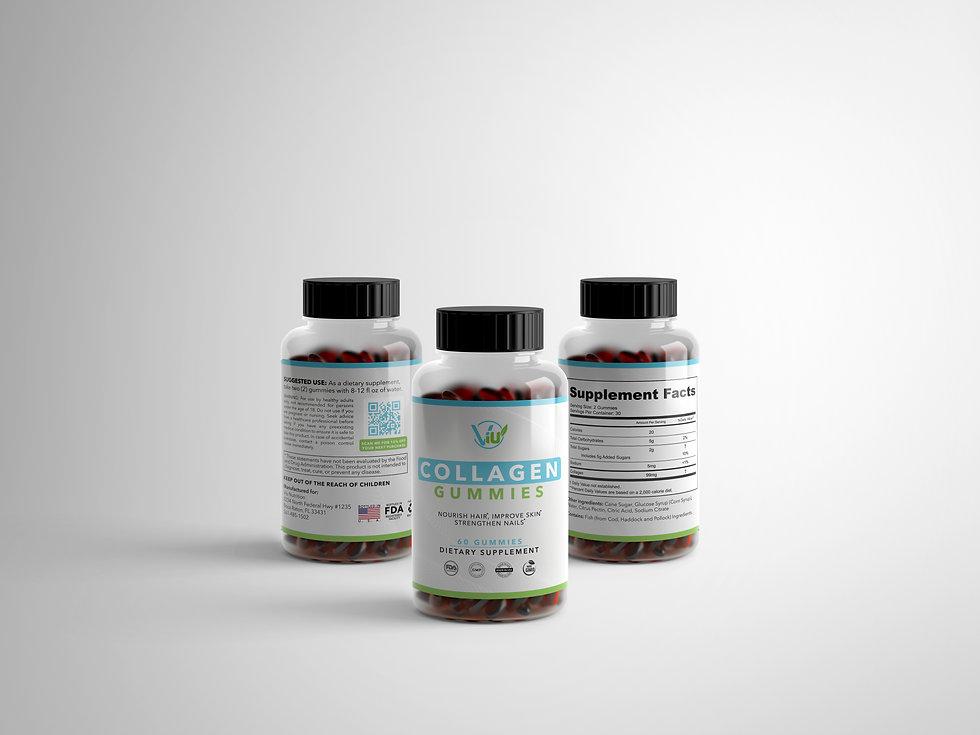 Collagen Gummies - 3 bottles visualizati