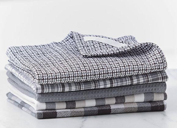 5-Pc. Woven Kitchen Towel Sets