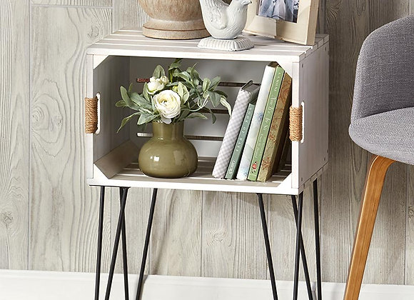 Rustic Wooden Crate End Tables