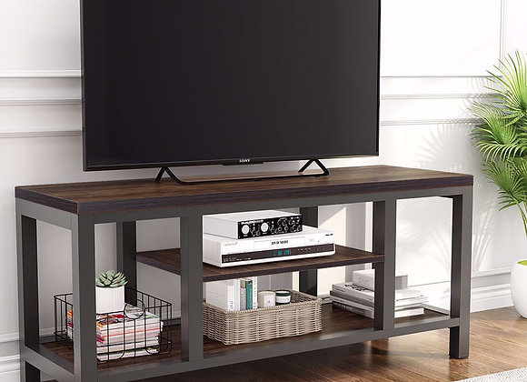 """Tribesigns TV Stand, Industrial Rustic Media Stand for 60"""" TV, Large 3-Tier Ent"""