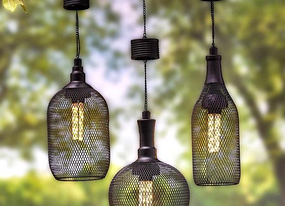 Solar Mesh Hanging Pendant Lamps