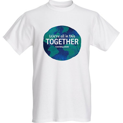 """We're in this together ""Covid19 2020 Unisex T-shirt"