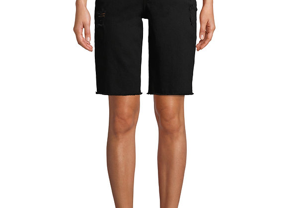 Jordache Vintage Women's Cris High Rise Bermuda Shorts