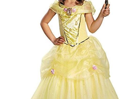 Disney Beauty and the Beast Belle Deluxe Sparkle Toddler Halloween Costume