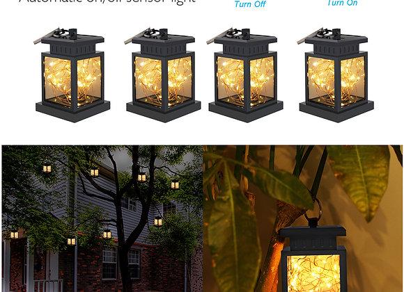 (1~10 Pack)Solar Lights Outdoor Hanging Solar Lantern , Solar Garden Lights