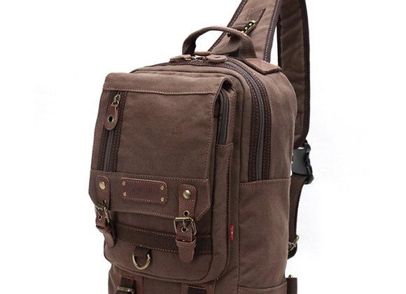 Sling Bag Crossbody Shoulder Chest Rucksack Vintage Urban Outdoor Travel Backpa