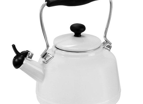 Enamel on Steel Vintage Teakettle (1.7 Qt.)