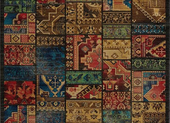 "Momeni Vintage New Zealand Wool Machine Made Multi Area Rug 1'9"" X 2'9"""