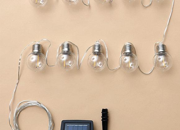 10-Pc. Solar Edison String Lights