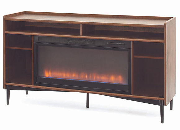 Better Homes & Gardens Montclair Entertainment Fireplace TV Stand for most Flat