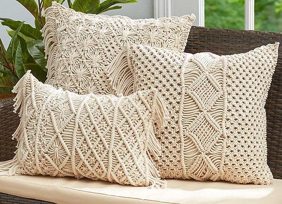Macramé Cotton Decorative Pillows