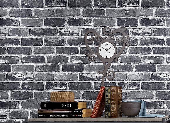 Flat Faux Brick Stone Wallpaper Roll 3D Effect Blocks Vintage Home Decoration G